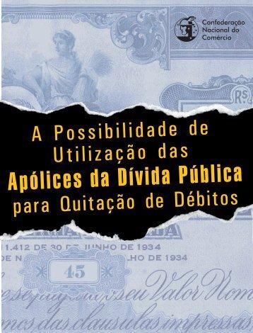 Apólices da Dívida Pública - CNC