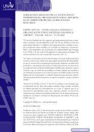 Fusto, Liliana Antonia c Organización Veraz Sociedad ... - UNAV
