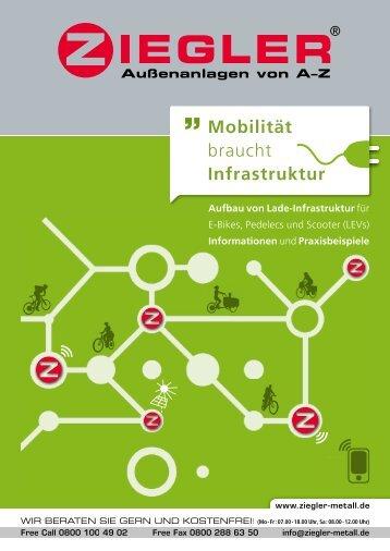 Mobilität braucht Infrastruktur - Ziegler