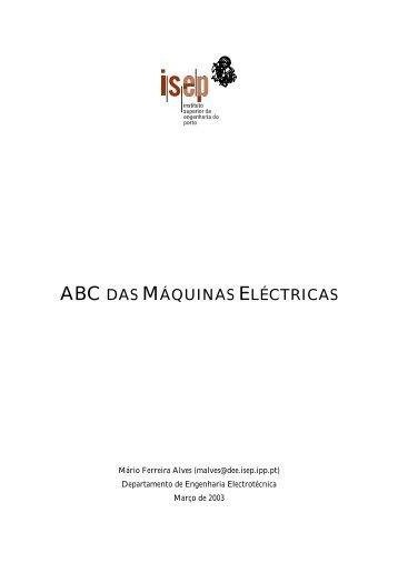 ABC das Máquinas Eléctricas - DEE-Logo