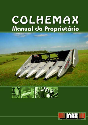 Manual do operador Colhemax - MAX Indústrias Irmãos Thonnigs Ltda