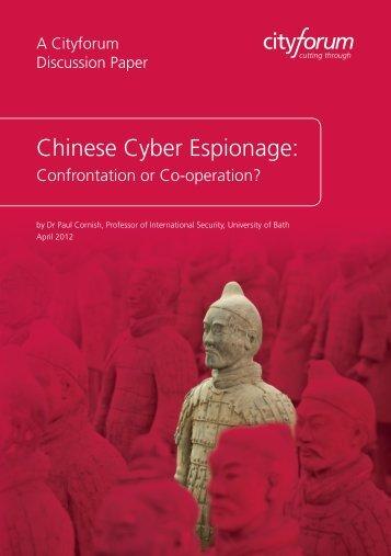 CHINESE CYBER ESPIONAGE 3.12c.indd - Cityforum
