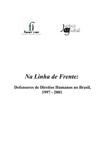 Na Linha de Frente: - Front Line Defenders