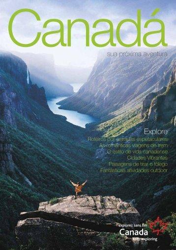 Guia do Canadá - Personal Brasil Turismo