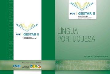 CADERNO DO FORMADOR - Ministério da Educação