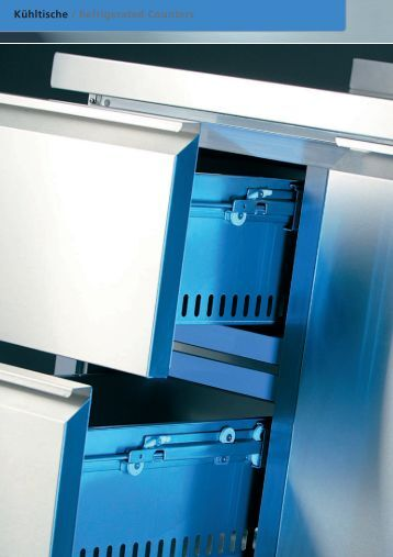 Kühltische GN1/1 / Refrigerated Counters GN1/1 - wiba-ag.ch Home