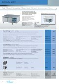 Kühltische GN1/1 / Refrigerated Counters GN1/1 - wiba-ag.ch Home - Page 7