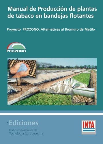 Manual de Producción de Plantas de Tabaco en Bandejas Flotantes