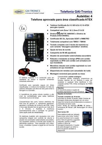 Telefonia GAI-Tronics Auteldac 4 - Digitrol