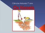 Os fósseis e a História da Terra - Portefolionaturas.net