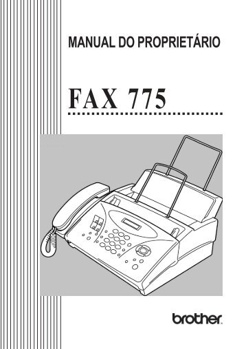 FAX 775 - Brother