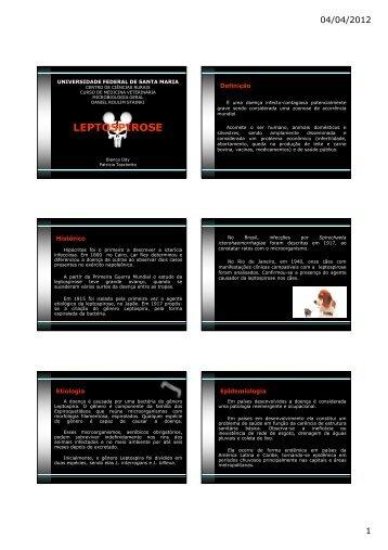 LEPTOSPIROSE [Modo de Compatibilidade] - UFSM