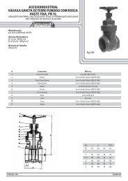 Catálogo Geral de Produtos - Versão para ... - acesso industrial