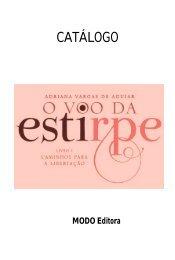 CATÁLOGO - Modo Editora
