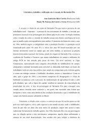 Literatura, trabalho e reificação em A enxada, de Bernardo - Unicamp