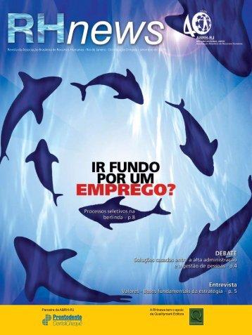 RHnews • setembro 2006 • Revista da Associação ... - ABRH-RJ