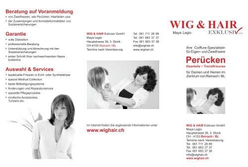 unser Flyer als PDF - WIG & HAIR Exklusiv, Perücken, Trendfrisuren ...