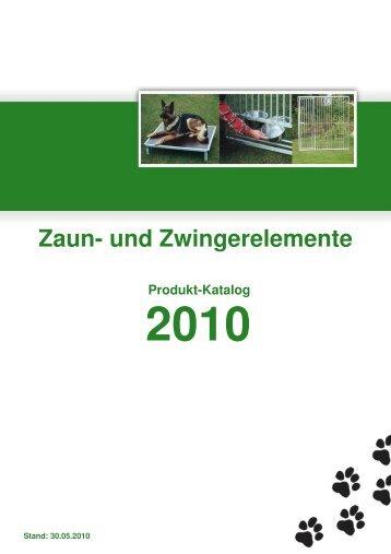 Produkt-Katalog - Zaun- und Zwingerelemente | Toralf Ollesch