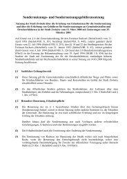 Sondernutzungs- und Sondernutzungsgebührensatzung - Zwönitz