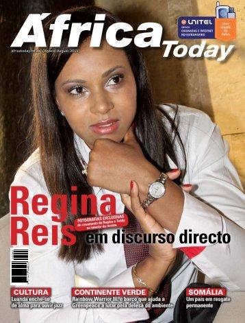 Regina Reis em discurso directo - Revista Africa Today
