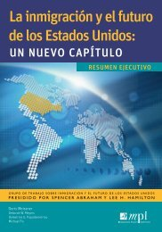 La inmigración y el futuro de los estados unidos: - Migration Policy ...