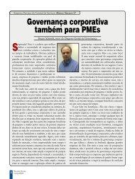 Governança corporativa também para PMEs - Abinee