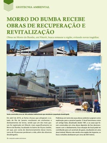 Morro do Bumba recebe obras de recuperação e revitalização