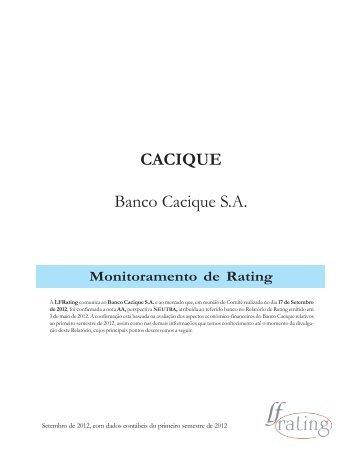 Banco Cacique - LF Rating