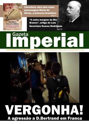 Gazeta - Brasil Imperial