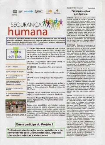 Download - Projeto Segurança Humana