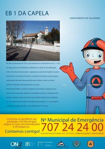 EB 1 DA CAPELA - Câmara Municipal de Gaia