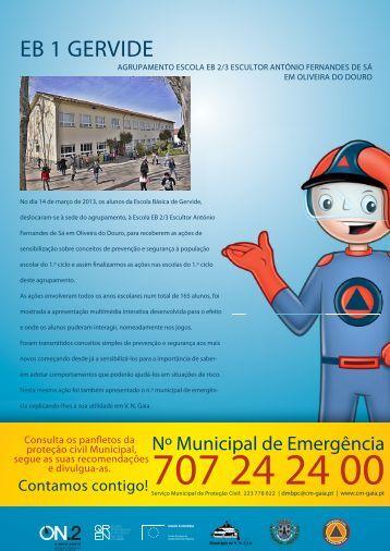 EB 1 GERVIDE - Câmara Municipal de Gaia