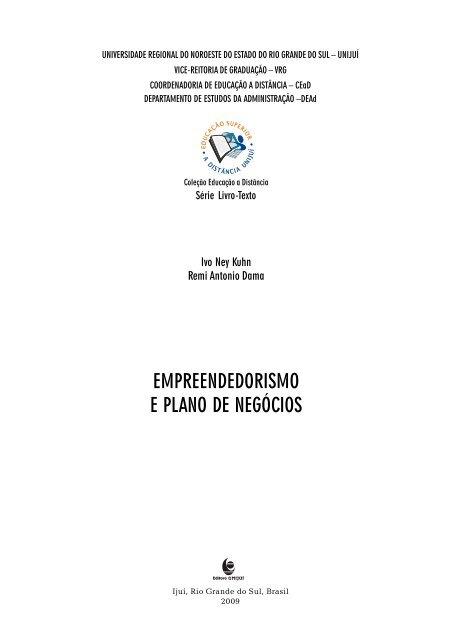 Livro Empreendedorismo Pdf