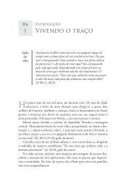 Ler trecho do livro (pdf) - Editora Mundo Cristão