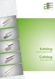 Katalog Catalog - 2E mechatronic