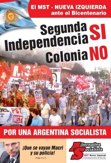 MST- Nueva Izquierda - Alternativa Socialista - Movimiento ...