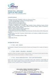 Orlando Teen - Julho 2013 A partir de: USD 4.183,00 - Casa Aliança