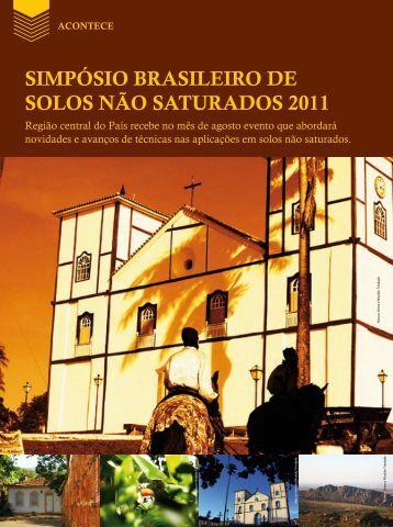 SIMPÓSIO BRASILEIRO DE SOLOS NãO SATURADOS 2011