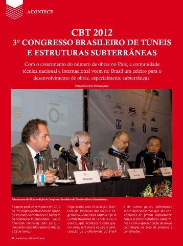CBT 2012 - Revista Fundações & Obras Geotécnicas