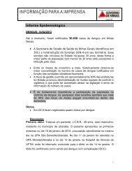 Informe Epidemiológico 14.02.2013 - Secretaria de Estado de ...