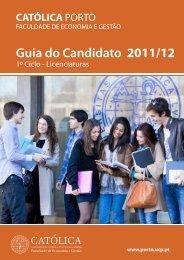 Guia do Candidato 2011/12 - Faculdade de Economia e Gestão ...