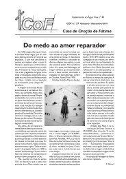 Do medo ao amor reparador - Diocese de Leiria Fátima