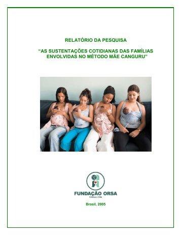 """relatório da pesquisa """"as sustentações cotidianas das famílias ..."""