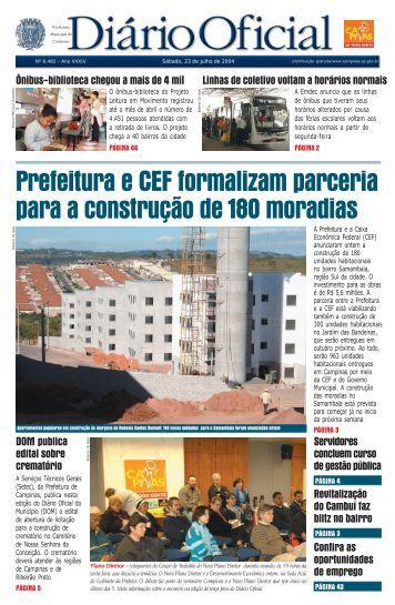 Prefeitura e CEF formalizam parceria para a construção de 180 ...
