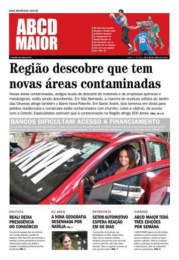 25/05/2012 - Ano 06 - Nº 422 - ABCD Maior