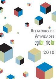 RELATóRIO DE ATIVIDADES - NIC.br