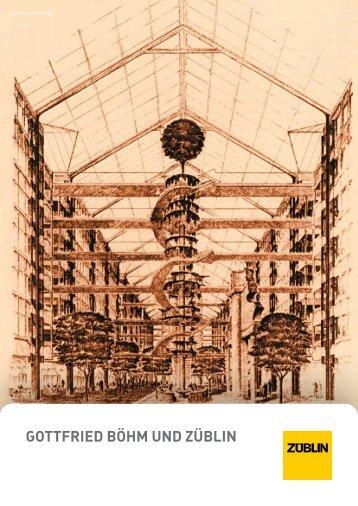 Broschüre Gottfried Böhm und Züblin - Ed. Züblin AG