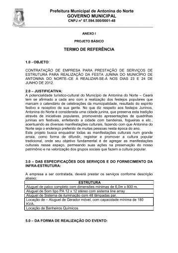 ANEXOS I AO III - TCM-CE