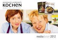 Mediadokumentation 2012 - Annemarie Wildeisen's KOCHEN