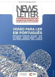 Newsletter Julho/Agosto 2012 - e-português